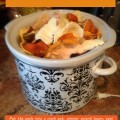 orange peels in crock pot